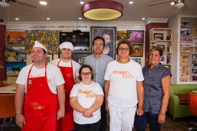 Down Cafe Şişli'de teslimat devri başladı