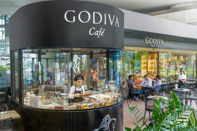 Godiva Café Zorlu Center mağazasını yeniledi
