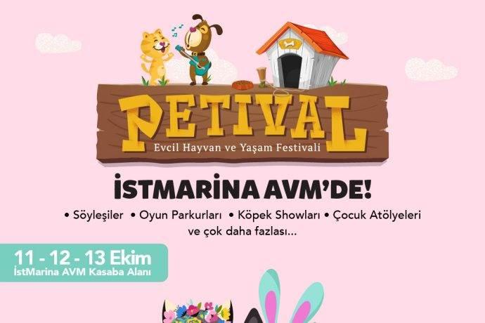 Petival Festivali İstMarina AVM'de 11 Ekim'de başlıyor