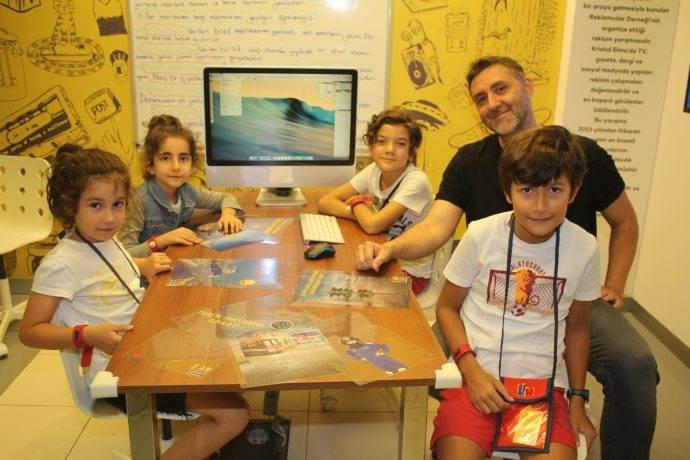 KidzMondo'da çocuklar artık reklam ajansında çalışacak