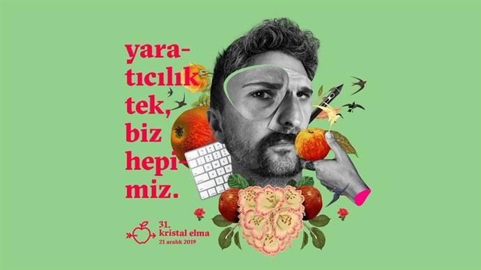 Kristal Elma Türkiye Reklam Ödülleri 31. kez verilecek