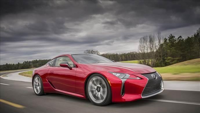 Lexus LC 500'ü sadece 2 bin kişi alabilecek