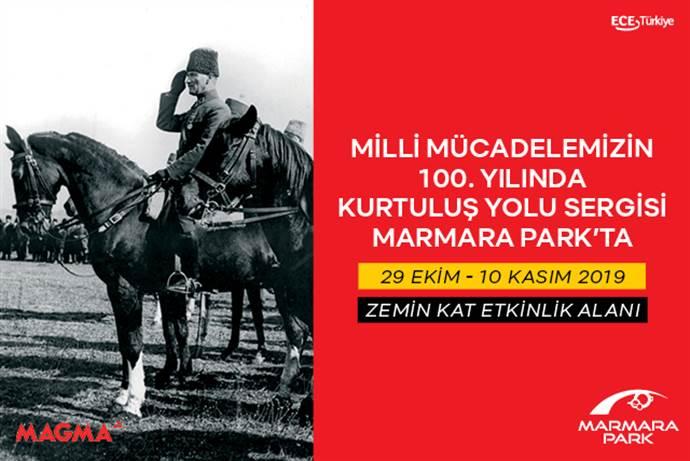Marmara Park AVM'de Kurtuluş Yolu Sergisi