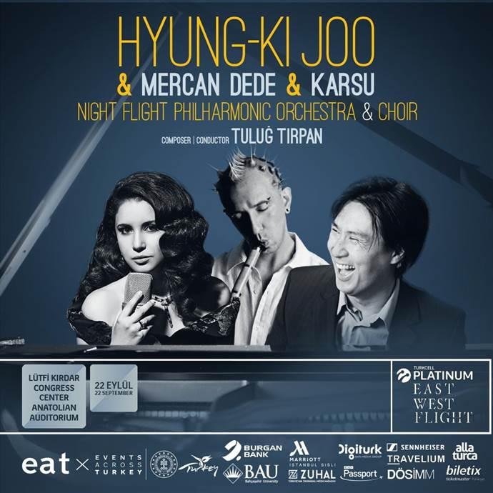 Turkcell Platinum East West Flight konseri 22 Eylülde