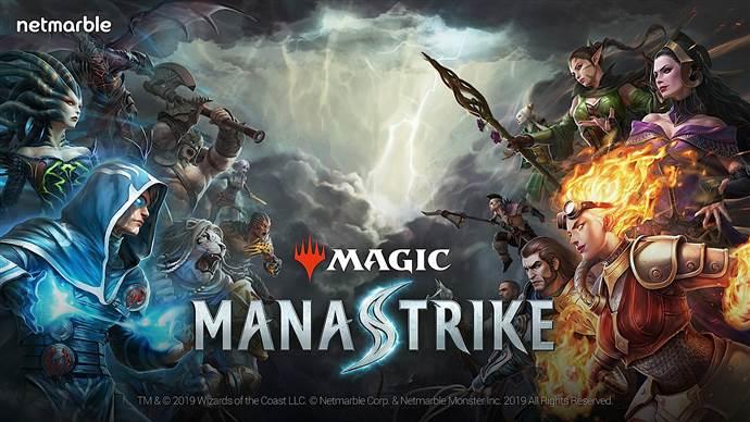 Netmarble'dan yepyeni oyun Magic: ManaStrike