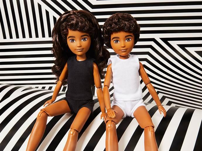 Mattel'den cinsiyet gözetmeyen oyuncak bebek serisi