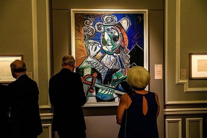 Picasso: Gösteri Sanatı sergisi Arkas Sanat Merkezi'nde