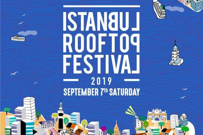 İstanbul Rooftop Festivali 7 Eylül'de 9 ayrı mekanda