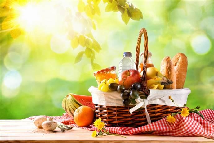 Piknik sepetinin sağlıklı olması için içine ne olmalı?