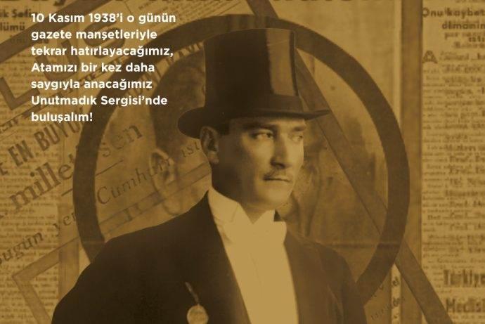 Vadistanbul'dan Atatürk anısında Unutmadık Sergisi