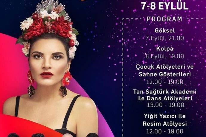 Akbatı AVM 8. Yaşını Göksel ve Kolpa konserleri ile kutlayacak