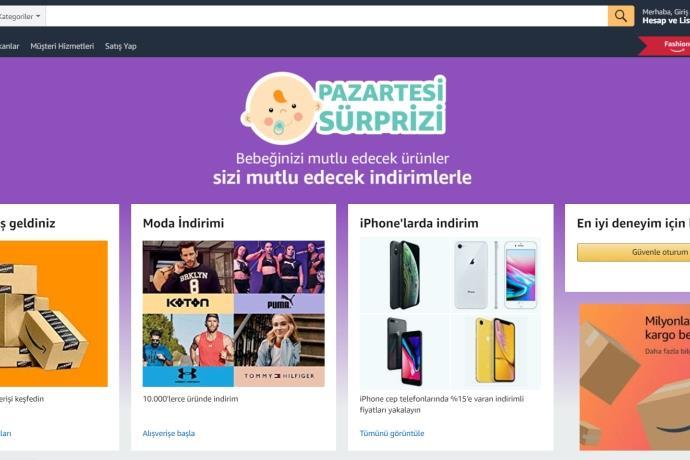 Amazon.com.tr'de bebek ürünlerinde büyük indirim