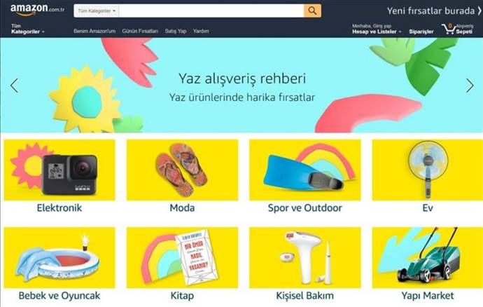 Amazon'dan Yaz Alışveriş Rehberi ve indirim kampanyası