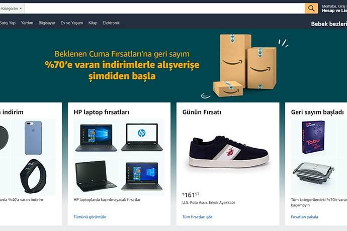 Amazon.com.tr'den Beklenen Cuma indirimi