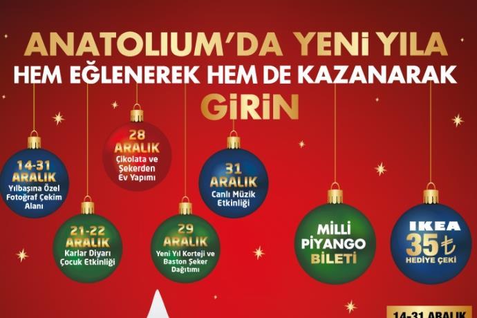 Anatolium'da yeni yıl şenliği başlıyor