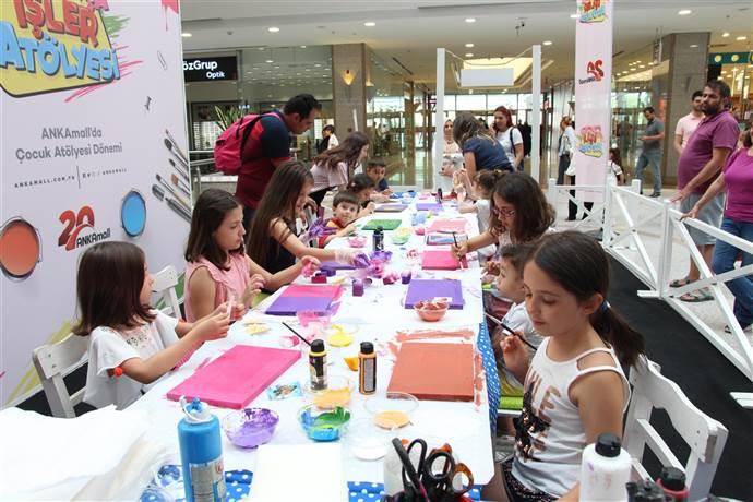 ANKAmall'da çocuklar için ücretsiz bayram atölyeleri