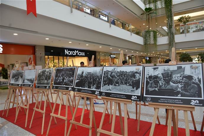 ANKAmall Atatürk'ün Ankara'ya gelişi'ni kutladı