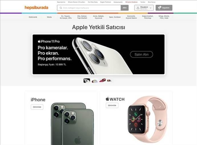 Hepsiburada, Apple'ın tek yetkili e-ticaret platformu oldu
