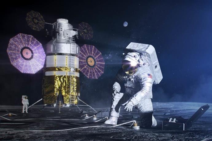 Türk çift, NASA'nın Ay görevine dahil oldu