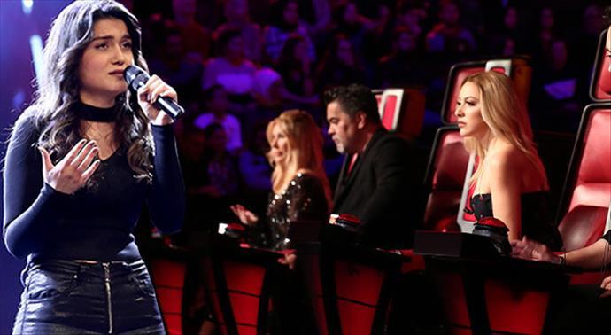 O Ses Türkiye yarışmasına Arzum Apraş 'Küçüğüm' şarkısıyla damga vurdu