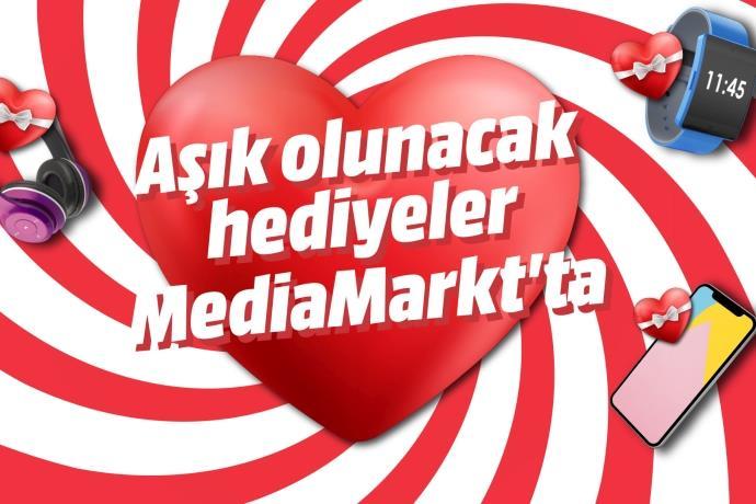 """MediaMarkt'tan """"aşkla dolu"""" kampanya"""