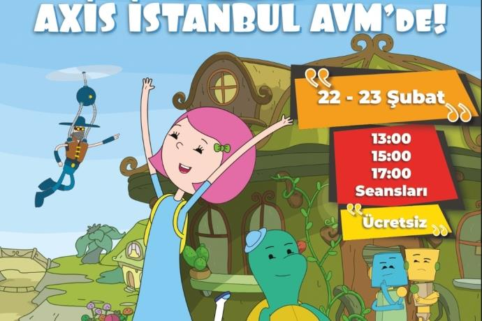 İbi ile Tosi, Axis İstanbul AVM'de
