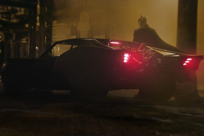 Yeni Batman filminin 'Batmobil'i resmen ortaya çıktı