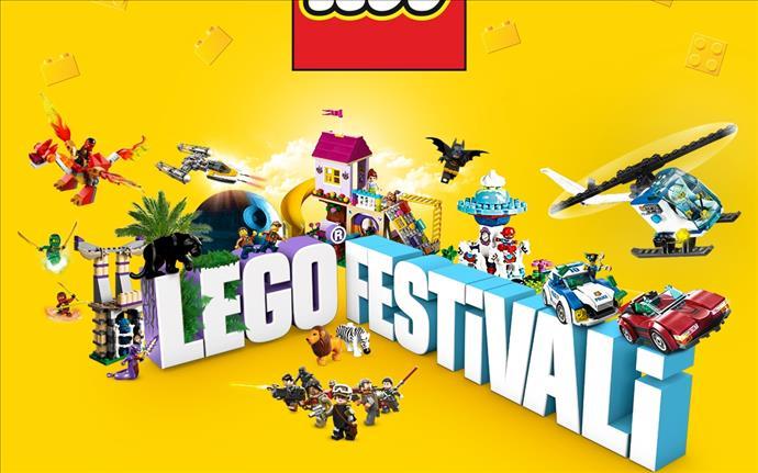 Beylikdüzü Migros AVM'de çocuklar için LEGO festivali