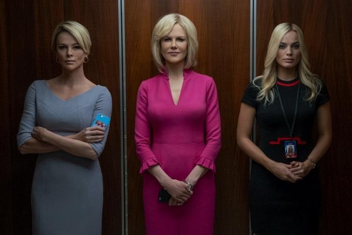 'Bombshell' televizyon tarihinin en büyük skandallarından birini işleyecek