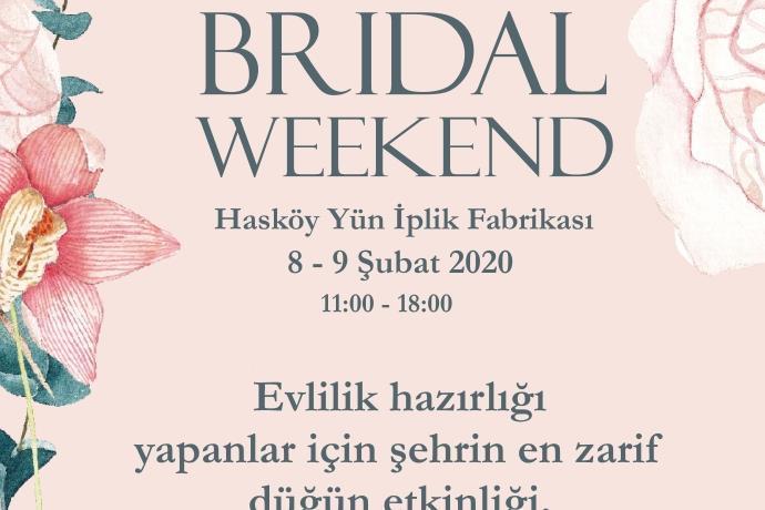 Bridal Weekend İstanbul 8 Şubat'ta başlıyor