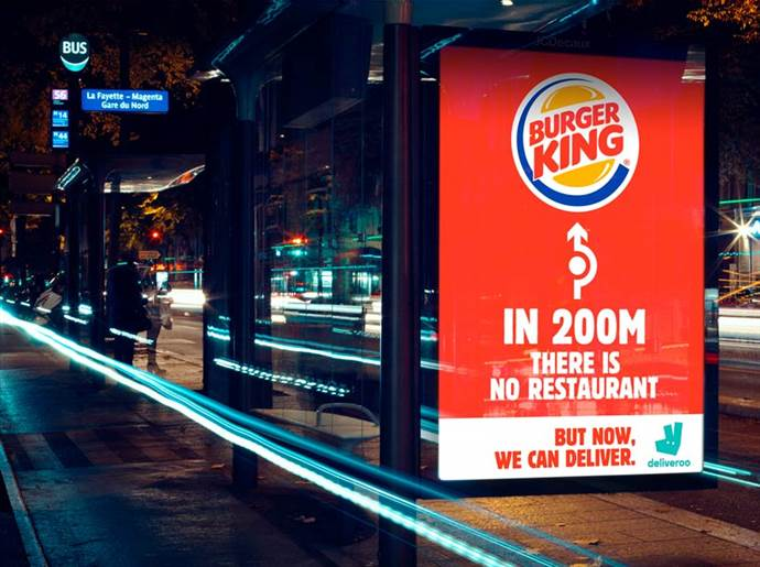 Burger King'den ilginç restoranımız yoktur kampanyası
