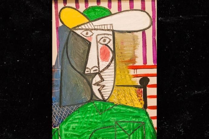 Picasso'nun 'Bust of a Woman' tablosu saldırıya uğradı