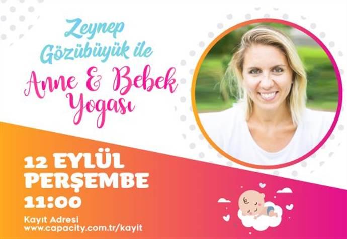 Capacity AVM'de Anne&Bebek Yogası devam ediyor