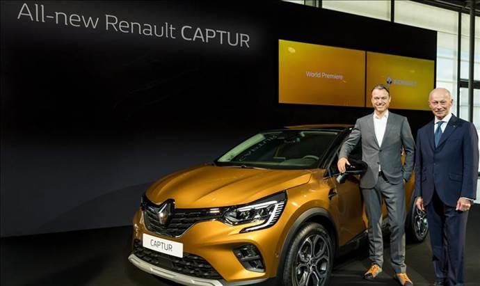 Renault, yeni Captur'u Frankfurt Otomobil Fuarı'nda  tanıttı