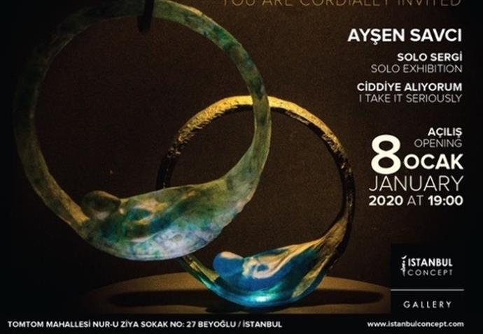 """8 Ocak'ta Istanbul Concept Gallery'de """"Ciddiye Alıyorum"""" sergisi"""