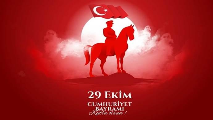 Cumhuriyet Bayramımızı Kutluyoruz