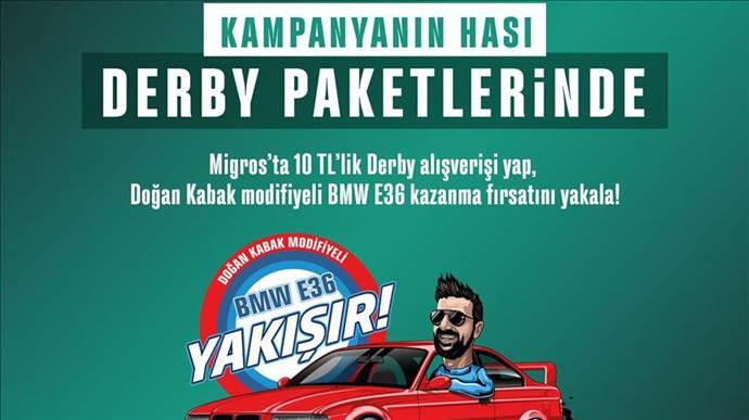Derby'den  Doğan Kabak imzalı modifiye BMW kampanyası