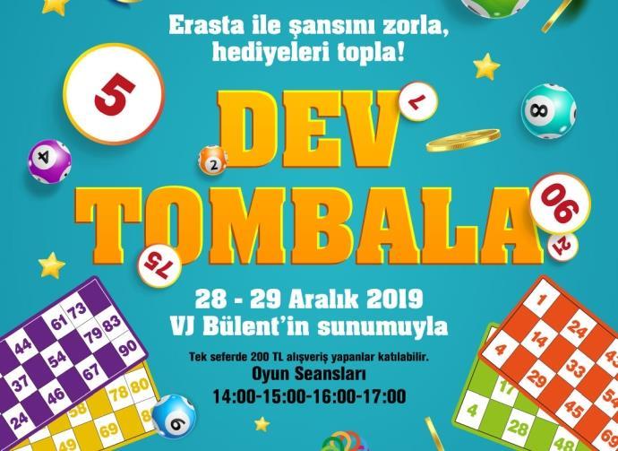 Erasta Edirne yeni yıla 'Dev Tombala Etkinliği' ile giriyor