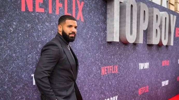 Rapçi Drake sevdiği dizi bitmesin diye yapımcı oldu