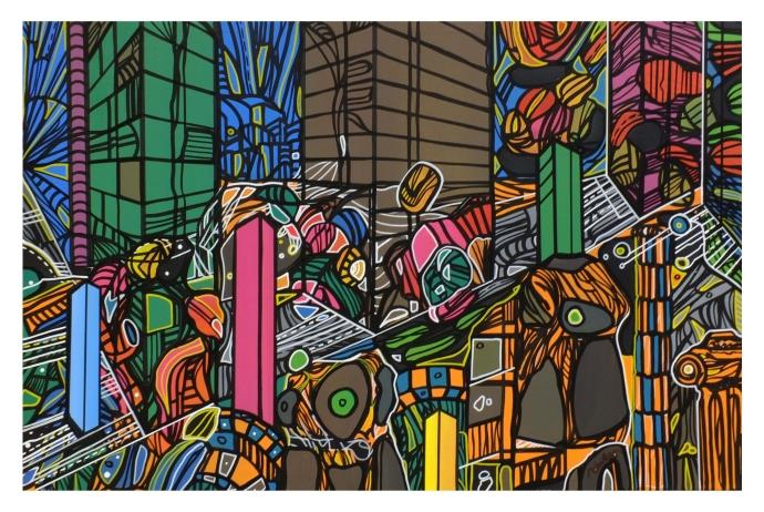 Trump Art Gallery'de 'Düzenin Sınırları' sergisi