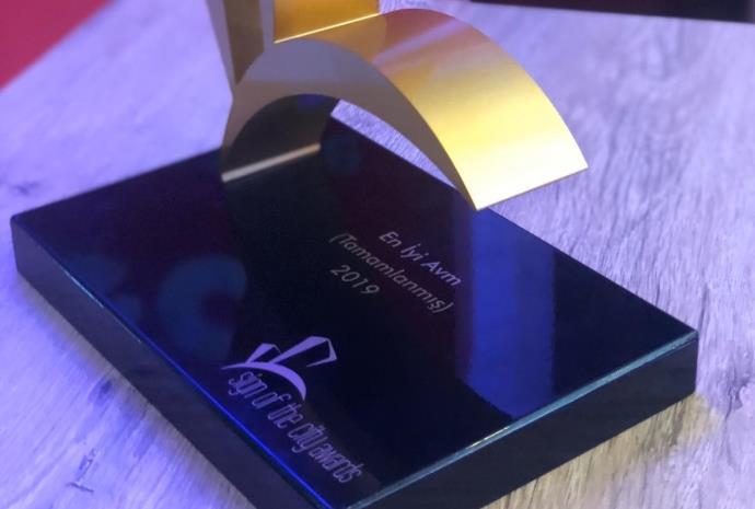 2019'un 'En İyi AVM' ödülü verildi