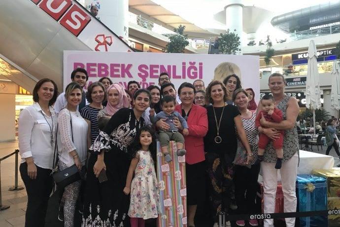 Erasta Antalya 3. Bebek Şenliğine hazırlanıyor