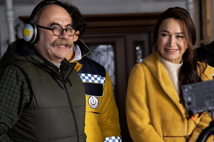 '9 Kere Leyla' çekimlerinde kaza! Ezel Akay ölümden döndü