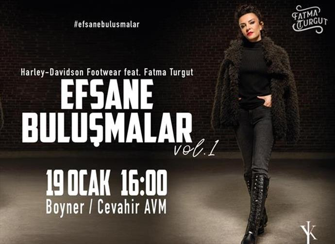 Fatma Turgut Cevahir'de sevenleriyle buluşacak