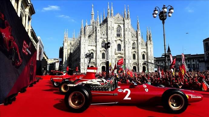 Ferrari 90. yılında efsane otomobillerini sergiledi