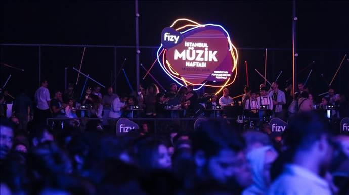 Fizy İstanbul Müzik Haftası 21 Ekimde başlayacak