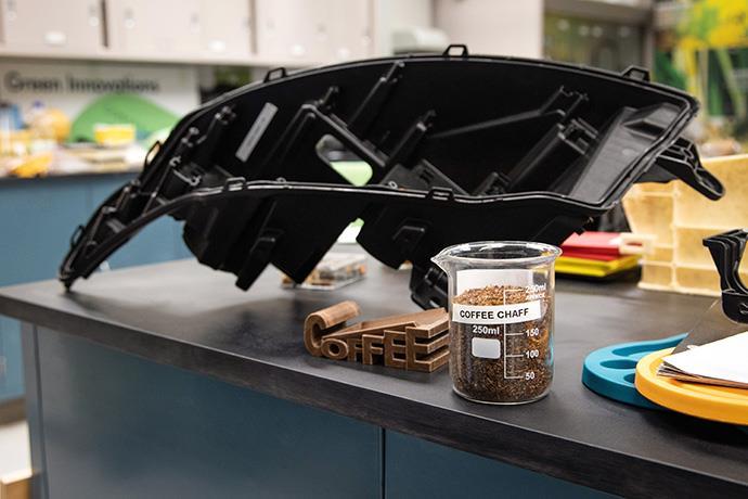 Kahve atıklarından otomobil parçası üretilecek