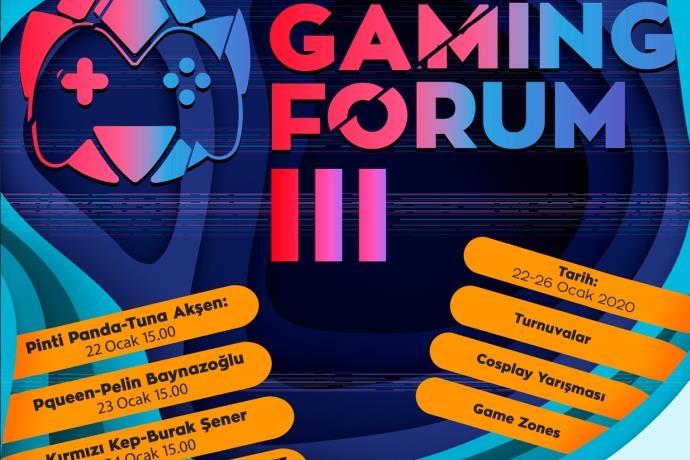 Pintipanda ve Pqueen, Forum İstanbul'da Gaming Forum'a katılacak