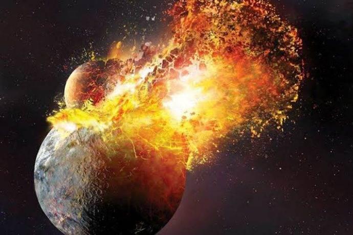 300 Işık Yılı uzakta çarpışan iki gezegen tespit edildi
