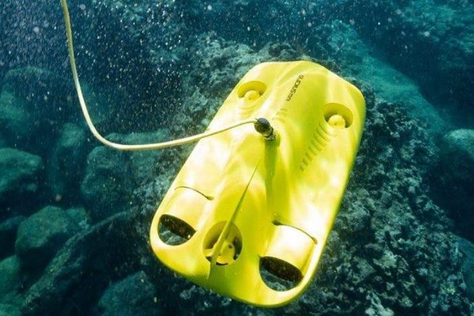 Su altında 4K çekim yapabilen kamera